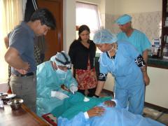 めばちこなど簡単な手術は看護師が行ったりもします