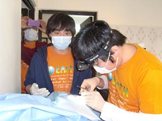 成外科の手術